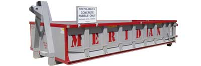 13 cubic yard Concrete Recycling Bin